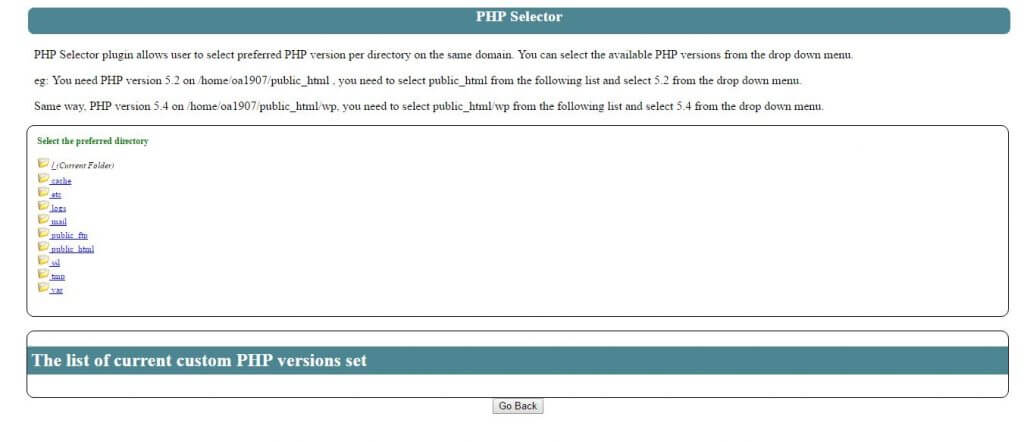 php-versiyon-secimi-public-html