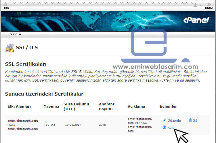 ssl-sertifikasi-kurulum