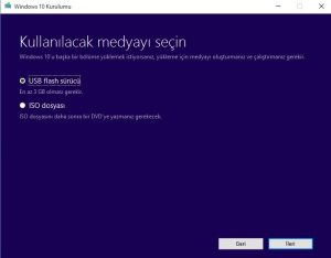 windows-10-iso-usb-veya-dvd-secimi