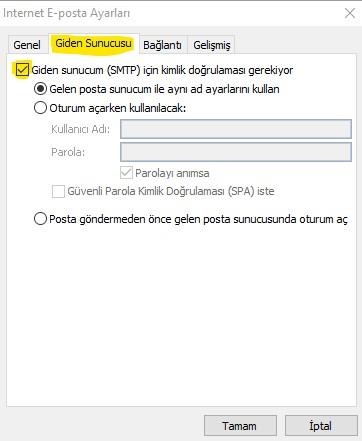 Giden Sunucu